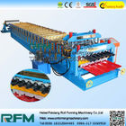 Double Layer Roofing Sheets Making Machines , Metal Sheet Roof Roll Forming Machine