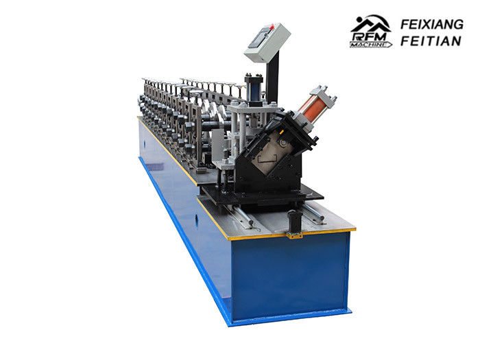 Steel Metal Stud And Track Roll Forming Machine For C Z U L Channel Purlin