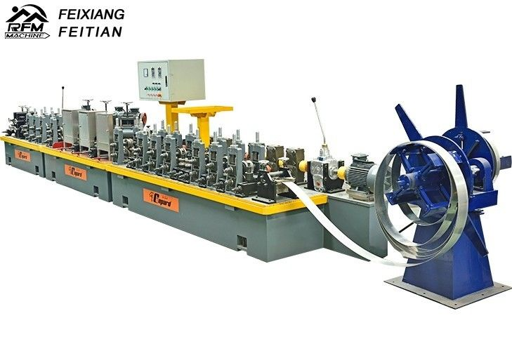 Straight Seam High Frequency Pipe Welding Machine FX50 For Petrol Transmission